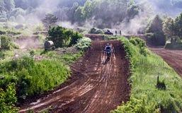 Motocrossstrecke Lizenzfreies Stockbild