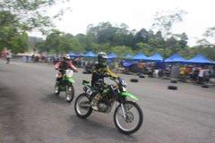Motocrossuitdaging 2016 Maleisië Royalty-vrije Stock Foto's