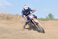 Motocrossutmaning fotografering för bildbyråer