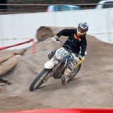 Motocrossutställning - Genoa ganska fjäder 2010 Arkivbilder