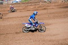 Motocrosswettbewerb Stockbilder