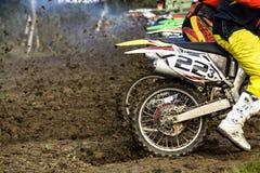 Motocrossytterlighetsport Arkivbilder