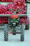 Motocultivator for agriculture and as transport machine Royalty Free Stock Photography