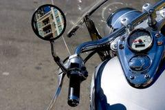 Motocycle详细资料 免版税库存图片