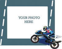 Motocycle Illustration Stock