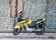 Motocycle dans les réseaux photo libre de droits