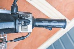 Motocycle de partie du corps Images libres de droits