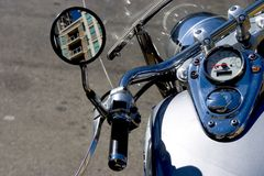 Motocycle Detail royalty free stock image