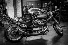Motocycle Harley-Davidson Custom Bike Fotografia de Stock