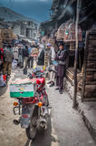 Motocycle in Kabul in Afghanistan Royalty Free Stock Images