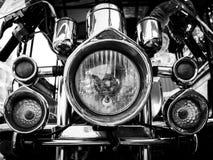 Motocycle lights Stock Photos