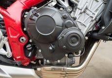 Motocycle-Motorblock Stockbild