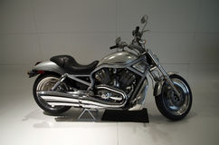 Motocycle na neutralnym tle Zdjęcie Royalty Free