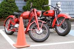 motocycles葡萄酒 免版税库存照片