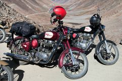 Motocycles brand Royal Enfield Royalty Free Stock Images