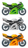 Motocyclette illustration stock