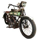 motocyclette 1911 de laine de bois Photographie stock libre de droits