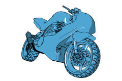 Motocyclette Images stock