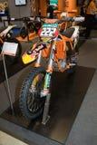 Motocyclette d'édition de KTM 350 SX-F Cairoli Images libres de droits