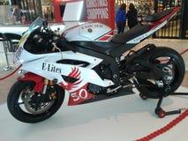 Motocyclette d'élites Image libre de droits