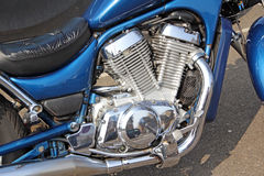 Motocyclette d'intrus de Suzuki Images libres de droits