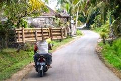 Motocyclette de l'Indonésie Images stock
