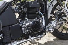 Motocyclette de moteur Photo libre de droits