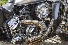 Motocyclette de moteur Images libres de droits