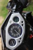 Motocyclette de tableau de bord, éléments graphiques Photographie stock libre de droits