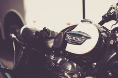 Motocyclette de Triumph Photos stock