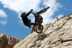 Motocyclette extrême Images stock
