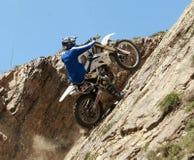 Motocyclette extrême Image stock