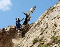 Motocyclette extrême Photos stock