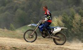 Motocyclette extrême Photo libre de droits