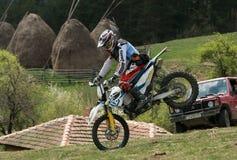 Motocyclette extrême Photographie stock