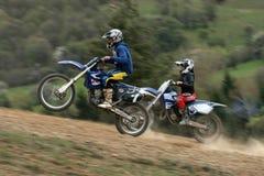 Motocyclette extrême Photographie stock libre de droits