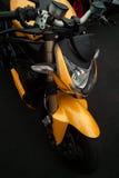 Motocyclette italienne de sport Photographie stock libre de droits