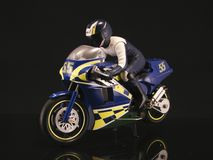 Motocyclette modale Image libre de droits
