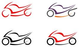 Motocyclette, moto - image, tatouage Image stock