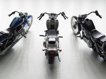 Motocyclette sur un fond blanc illustration de vecteur