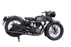 motocyclette vieille Photographie stock libre de droits