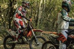 motocyclistes images stock