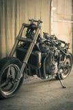 Motocykl bez pokrywy Fotografia Stock