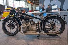 Motocykl BMW R62, 1928 Obraz Stock