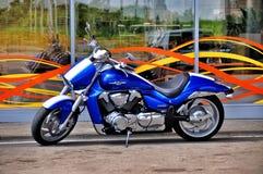 motocykl Drogowy rower - krążownik zdjęcie stock