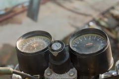 Motocykl kluczowa szczelina Obrazy Stock