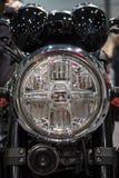 Motocykl lampa, odbłyśnik obraz royalty free