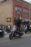 Motocykl policja Zdjęcia Royalty Free