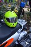 Motocykl przeciwawaryjna lekarka Obrazy Royalty Free