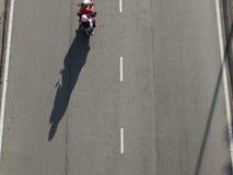 Motocykl samotnie obraz stock